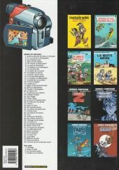 Verso de Spirou et Fantasio -17h05- Spirou et les hommes-bulles