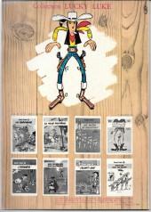 Verso de Lucky Luke -10b80- Alerte aux Pieds-Bleus