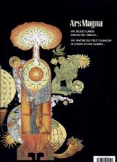 Verso de Ars Magna - Tome INT