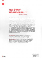 Verso de (AUT) Roudier - Qui était Néandertal ? L'enquête illustrée