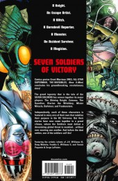 Verso de Seven Soldiers of Victory (2005) -4- Volume Four