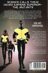 Verso de New X-Men (2001) -INT01- E is For Extinction