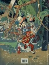 Verso de Spirou et Fantasio (Une aventure de.../Le Spirou de...) -11- Le Maître des hosties noires