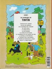 Verso de Tintín (Las Aventuras de) -9b2001- El cangrejo de las pinzas de oro