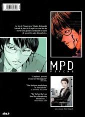 Verso de MPD-Psycho - Le détective schizophrène (Édition couleur) -1- Tome 1