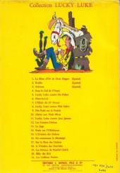 Verso de Lucky Luke -15a1964- L'évasion des Dalton