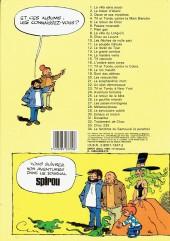 Verso de Tif et Tondu -5b1985/10- Le retour de Choc