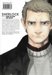 Verso de Sherlock (Moffat & Jay.) -1- Une étude en rose