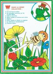 Verso de Les histoires merveilleuses de Whitman en bandes dessinées -18- Maya l'abeille et Merlin le magicien