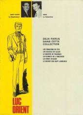 Verso de Luc Orient -3a74- Le maître de terango