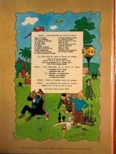 Verso de Tintin (Historique) -7B40- L'île noire