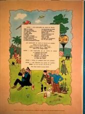Verso de Tintin (Historique) -5B40- Le lotus bleu
