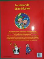 Verso de Bob et Bobette (Les Juniors) -HS- Le secret de Saint Nicolas