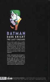Verso de Batman - Dark Knight : The Last Crusade