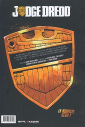 Verso de Judge Dredd (Réflexions) -1- Tome 1