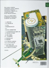 Verso de Largo Winch -11b10- Golden Gate