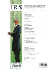Verso de I.R.$. -12a14- Au Nom du Président
