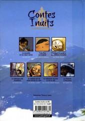 Verso de Contes du monde en bandes dessinées - Contes Inuits en bandes dessinées