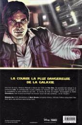 Verso de Star Wars - Han Solo - La Course du Vide du Dragon