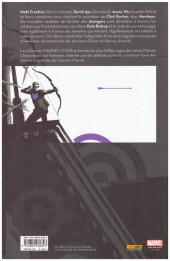 Verso de Hawkeye (100% Marvel - 2013) -INT- Hawkeye