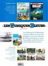 Verso de Les tuniques Bleues présentent -7- La guerre navale