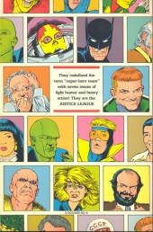 Verso de Justice League (1987) -INT01- A New Beginning