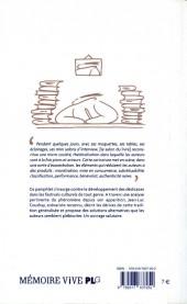 Verso de (DOC) Études et essais divers - L'industrie de la dédicace
