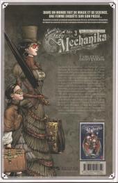 Verso de Lady Mechanika -3- La Tablette des Destinées