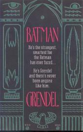 Verso de Batman/Grendel (1993) -1- Devil's riddle