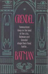 Verso de Batman/Grendel (1993) -2- Devil's masque
