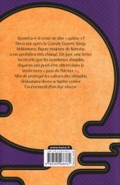 Verso de Naruto (Roman) - Le roman de Shikamaru