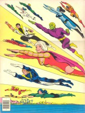 Verso de Limited Collectors' Edition (1973) -C-49- Superboy and the legion of Super-heroes