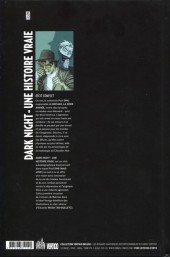 Verso de Dark Night - Une histoire vraie