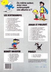 Verso de Johan et Pirlouit -2d83- Le maitre de Roucybeuf