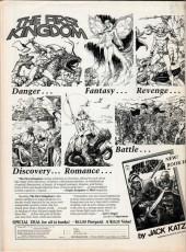 Verso de Bizarre Adventures (Marvel comics - 1981) -29- Stephen King's The Lawnmower Man