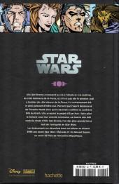 Verso de Star Wars - Légendes - La Collection (Hachette) -328- La Légende des Jedi - V. La Guerre des Sith