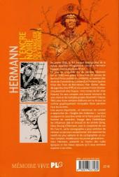 Verso de (AUT) Hermann - Hermann, L'encre noire du Sanglier des Ardennes