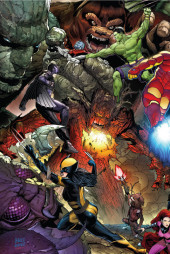 Verso de Monsters Unleashed Vol.1 (Marvel comics - 2017) -1- Issue #1