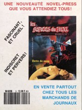 Verso de Secrets de femmes (Novel Press) -3- Au turf, les nanas !