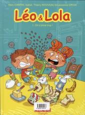 Verso de Léo & Lola -8- Tous copains !