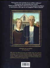 Verso de Dark Museum -1- American Gothic