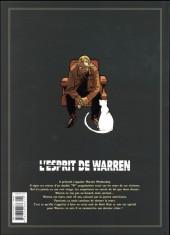 Verso de L'esprit de Warren -INT- Édition intégrale