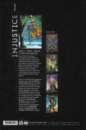 Verso de Injustice - Les Dieux sont parmi nous -7- Année 4 - 1re partie