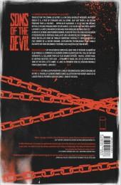 Verso de Sons of the Devil -1- Le Culte de sang