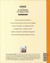 Verso de (AUT) Hergé -22- Hergé ou la profondeur des images plates