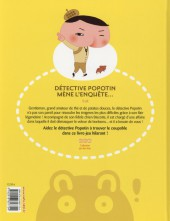 Verso de Détective Popotin -1- Détective Popotin mène l'enquête...