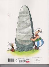 Verso de Asterix omnibus (The great) -INT03- omnibus