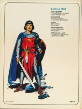 Verso de Prince Vaillant (Hachette) -3- L'épée enchantée