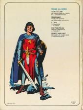 Verso de Prince Vaillant (Hachette) -2- Le complot diabolique