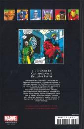 Verso de Marvel Comics - La collection (Hachette) -77XXIII- Vie et Mot de Captain Marvel - Deuxième Partie